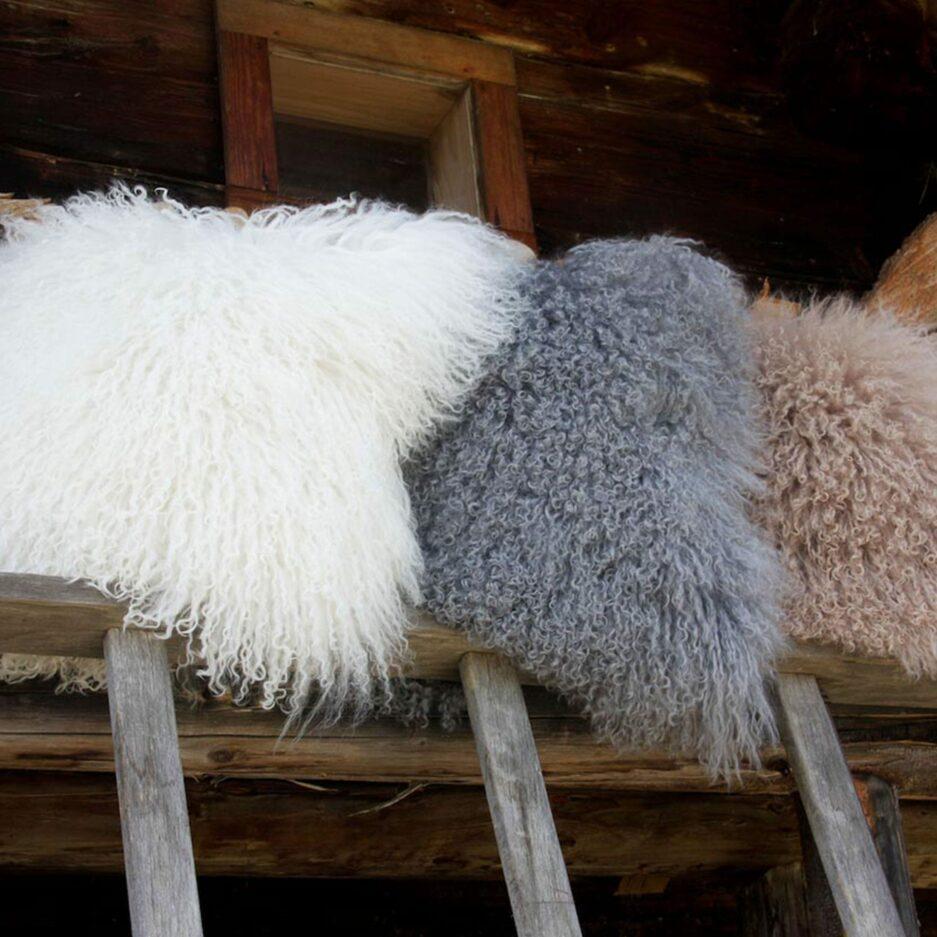 Fellkissen, Kissen aus Fell von kinzler