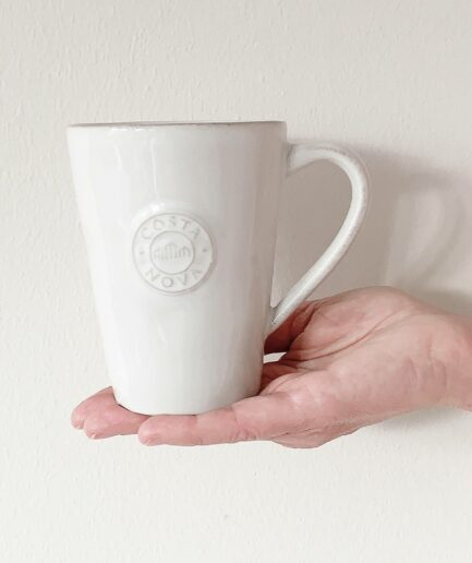 Kaffeetasse aus Steingut | der perfekte Kaffeebecher oder als Teetasse und als Geschenk | Pflegeleicht für das Büro | Spülmaschine geeignet | Onlineshop