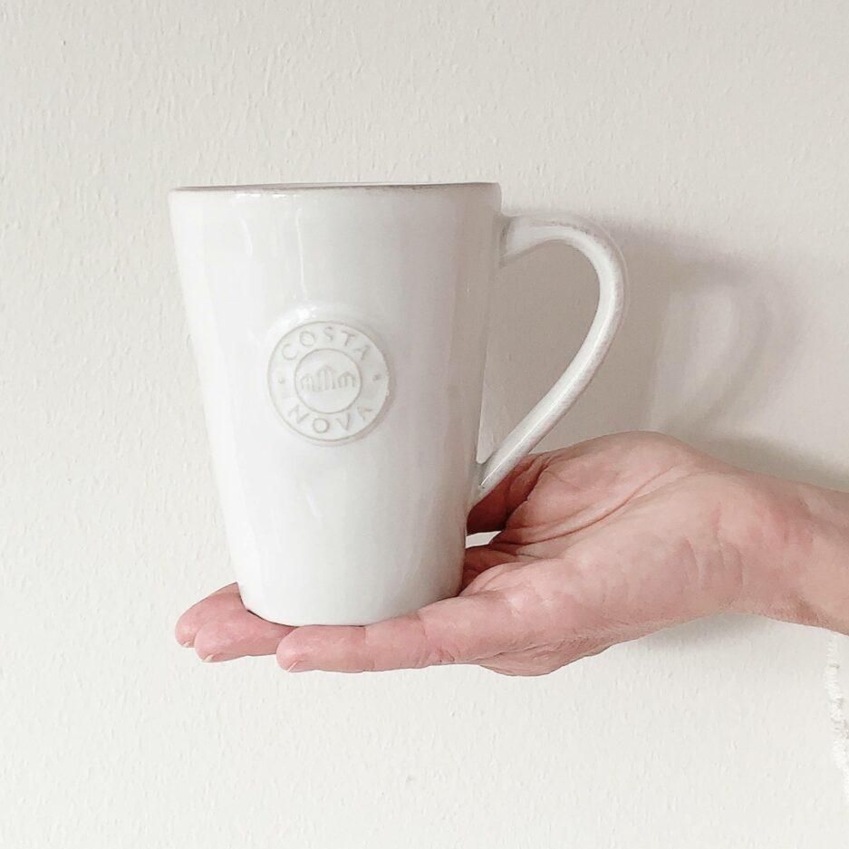 Kaffeetasse aus Steingut   der perfekte Kaffeebecher oder als Teetasse und als Geschenk   Pflegeleicht für das Büro   Spülmaschine geeignet   Onlineshop