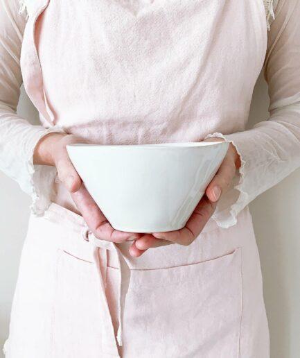 Schüssel aus Steingut für das Müsli, Salat oder Snacks. Das Geschirr von Costa Nova überzeugt durch sein robustes Material und ist pflegeleicht