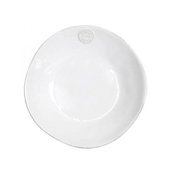 Speiseteller in Weiß, Steingut Geschirr | Costa Nova | Komplettes Speise Geschirr und Kuchen Frühstücks Geschirr - in Weiß, Türkis, Blau erhältlich. Für Spülmaschine / Mikrowelle
