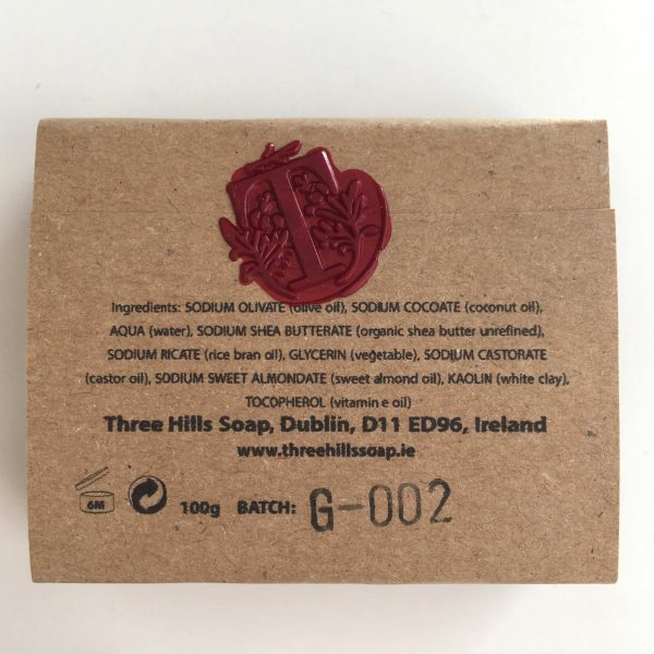 Bio Seife aus Rosa Tonerde für das Gesicht, natürliche Inhaltsstoffe