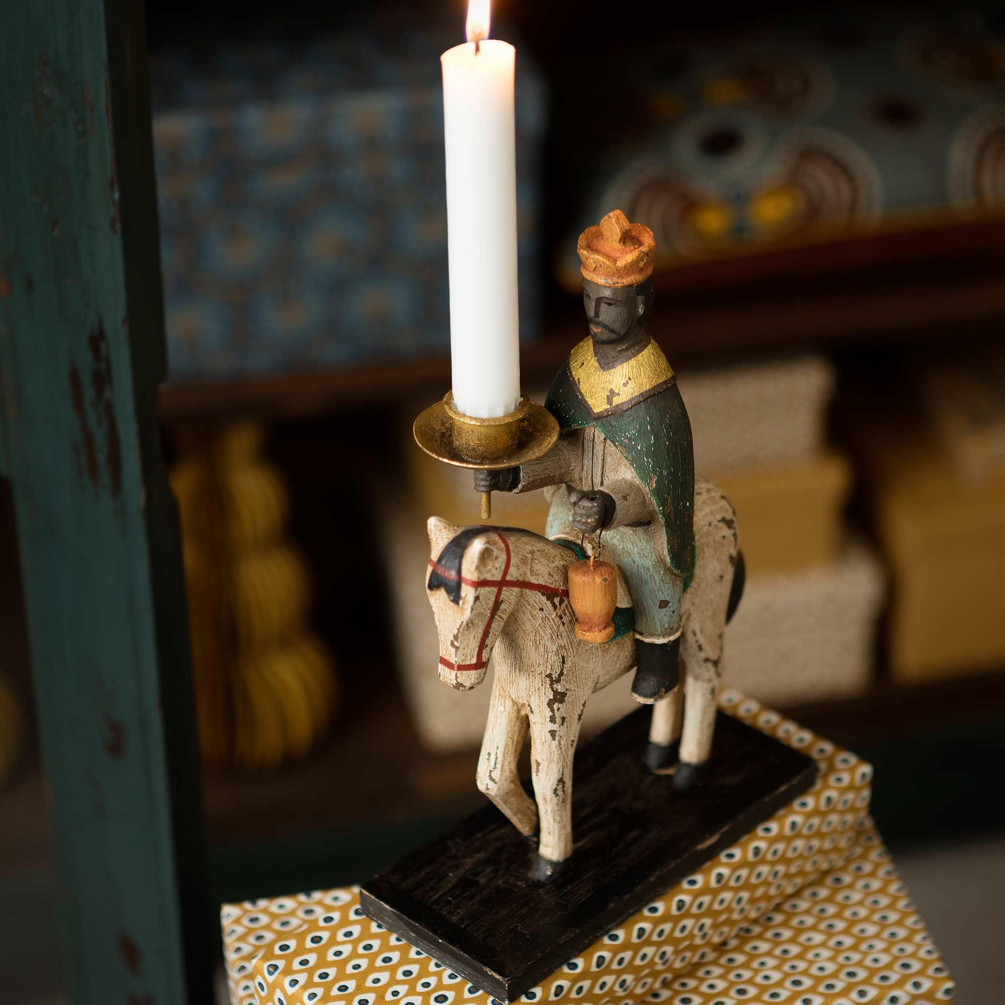 Kerzenhalter Heilige 3 Könige ♥ Holz Figuren von Bungalow aus Dänemark ♥ Skandinavische Dekoration für Weihnachten ♥ Trend 2019. Online kaufen, Trusted Shop