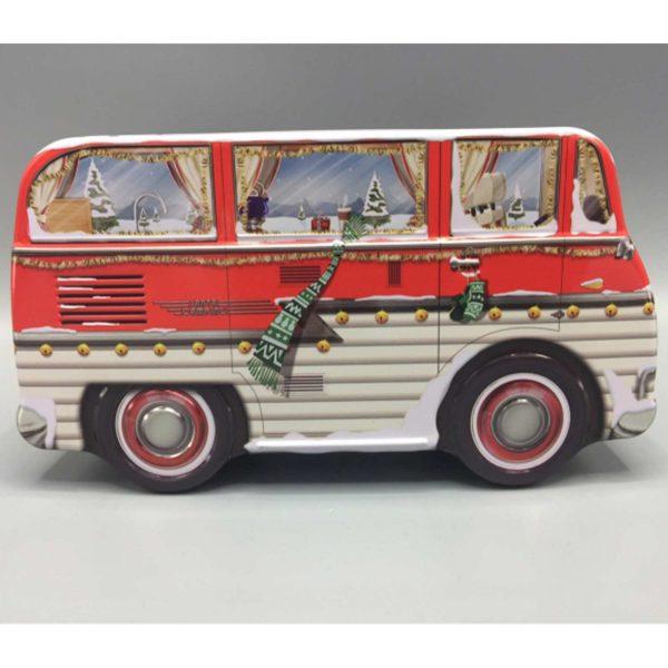 Keksdose Camper ♥ In die süße Dose in der Form eines Hippie VW Bus passen viele Weihnachtsplätzchen, Kekse, Plätzchen und Geschenke hinein ☆ Weihnachtsdeko | kaufen