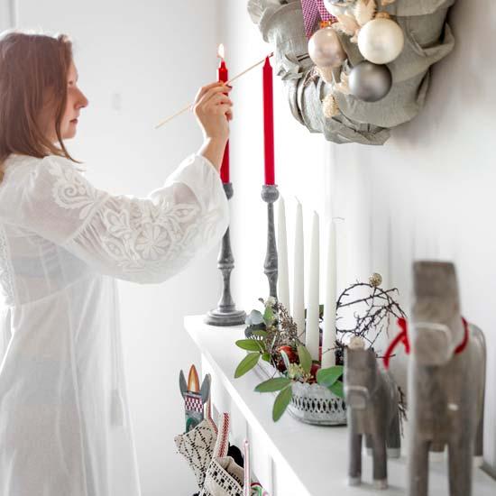 Skandinavische Weihnachtsdekoration für Advent & Weihnachten | Hier finden Sie Ideen für die Adventszeit und das Fest | Weihnachtsgeschenk kaufen