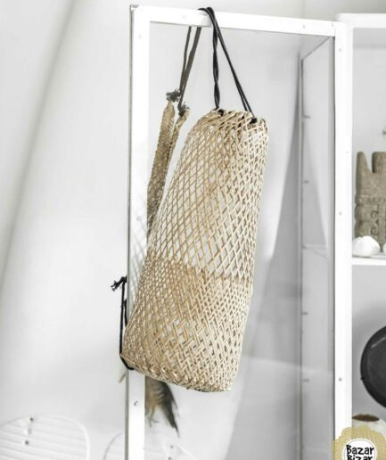 "The Fisherman Backpack ♥ Fischernetz. Der ""Borneo Bag"" dekoriert das Zuhause und ist ein Boho Must Have 