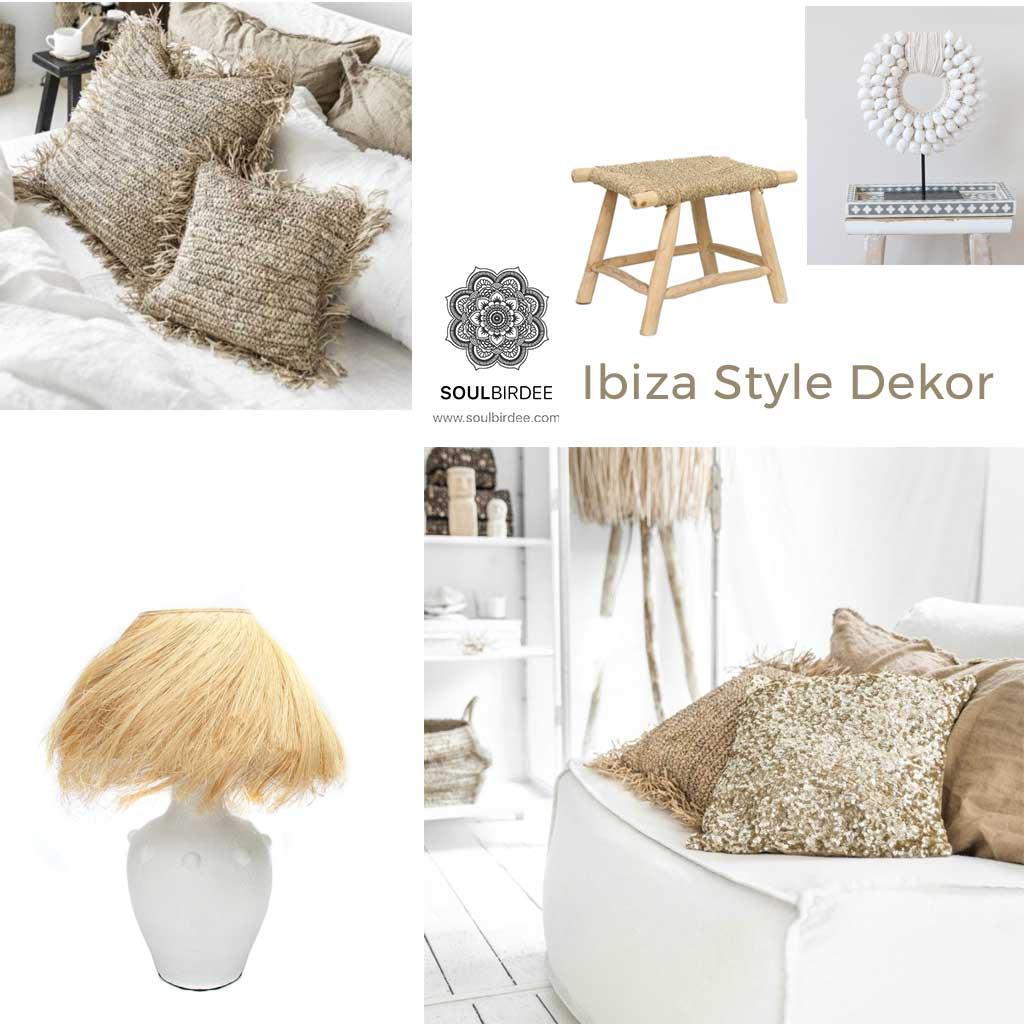 Ibiza Style Dekor mit Accessoires von Soulbirdee.com Onlineshop
