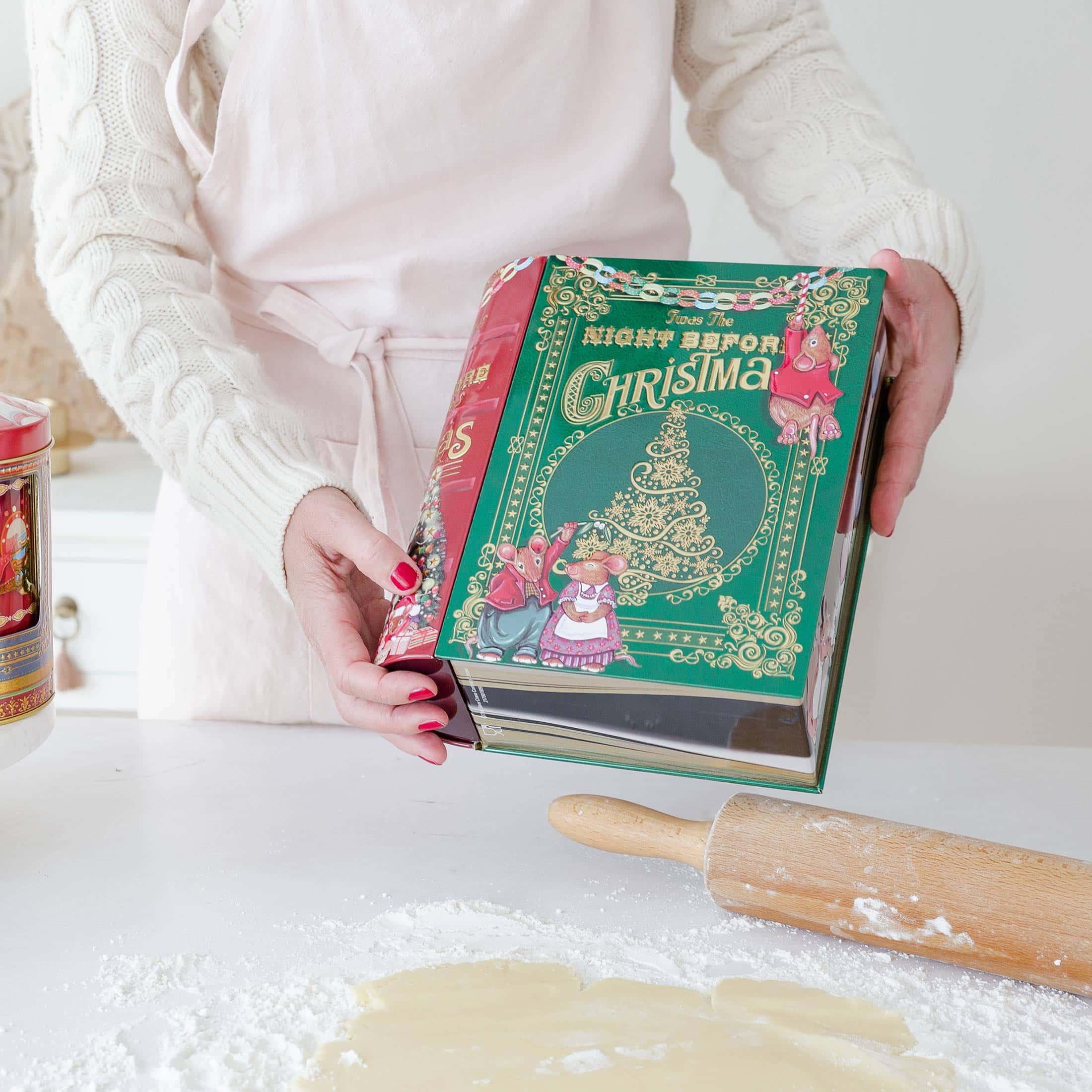 Keksdose aus Blech im Vintage Stil für die Weihnachtsplätzchen ♥ Entdecke die wunderschöne Auswahl an Keksdosen mit vielen Motiven & Designs ♥ Onlineshop