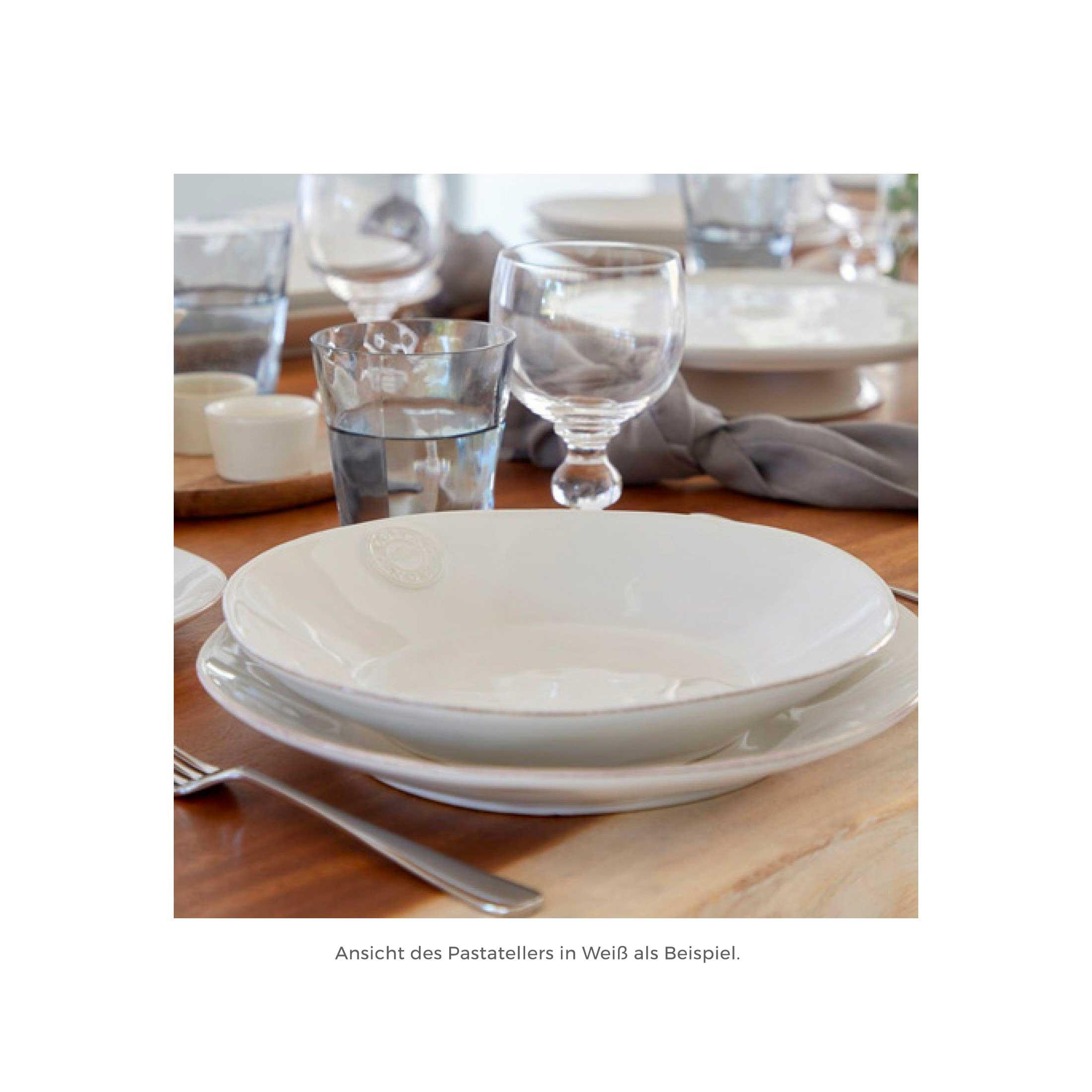 Suppenteller aus Steinzeug im mediterranen Look direkt aus Portugal! Entdecke das robuste und pflegeleichte Geschirr von Costa Nova