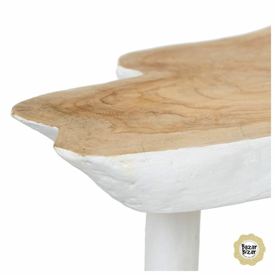 The Organic Side Table White