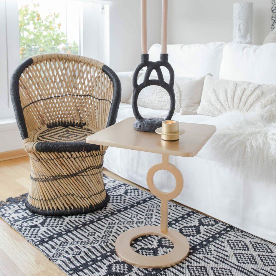 Boho Style Kinderstuhl im Pfauensessel Look von der Marke Jline. Entdecke unsere hübschen Sessel für das Kinderzimmer und Hängesessel für den Boho Look ♥ Onlineshop Soulbirdee