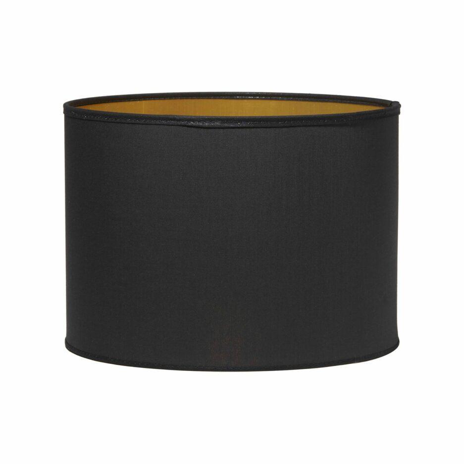 schwarzer Lampenschirm