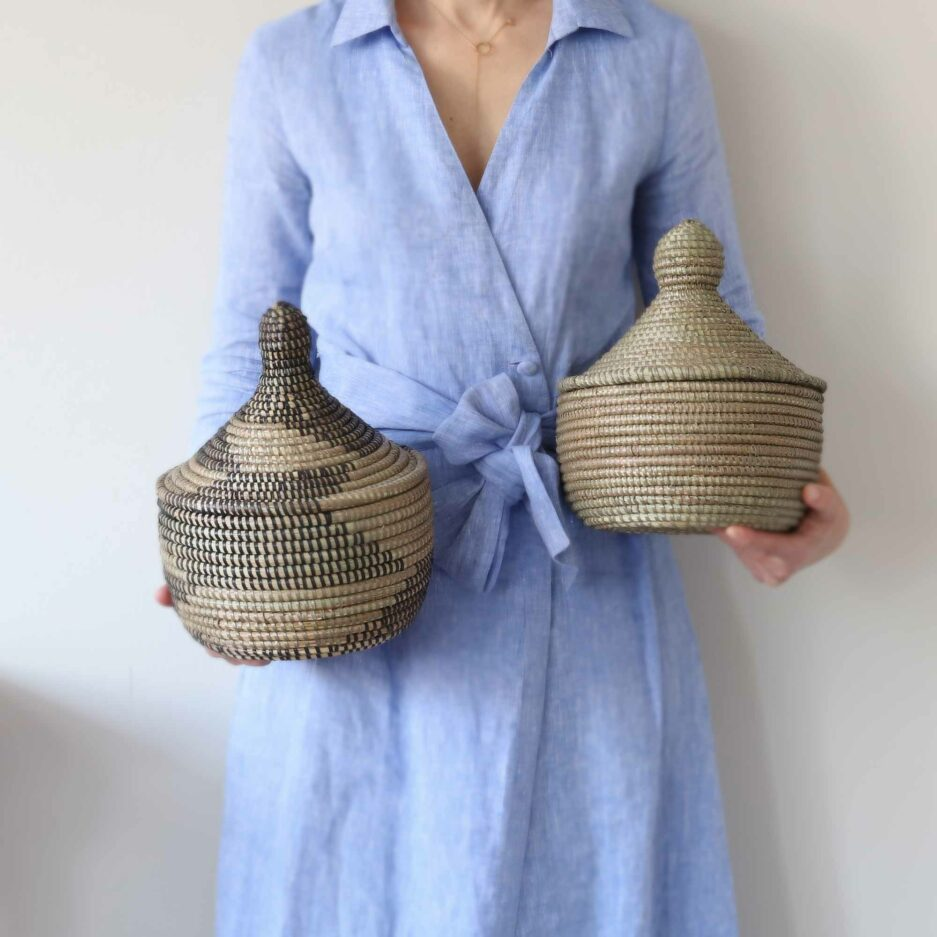 Deckelkorb Medina online kaufen ♥ Korb ✅ Nützlich & schicke Dekoration. Für Badezimmer, Flur, Wohnzimmer, Küche