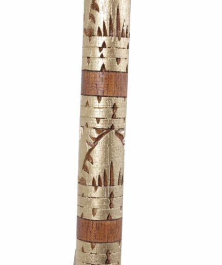 Sonnenschirm aus Bali mit Stange aus Teak-Holz ♥ Boho Wohndeko kaufen bei Soulbirdee Onlineshop