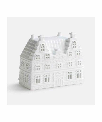Grachtenhaus Amsterdam für Teelichter aus der Kollektion von Klevering Amsterdam ♥ Kerzenhalter in der Form eines Haus | Kerzendeko kaufen