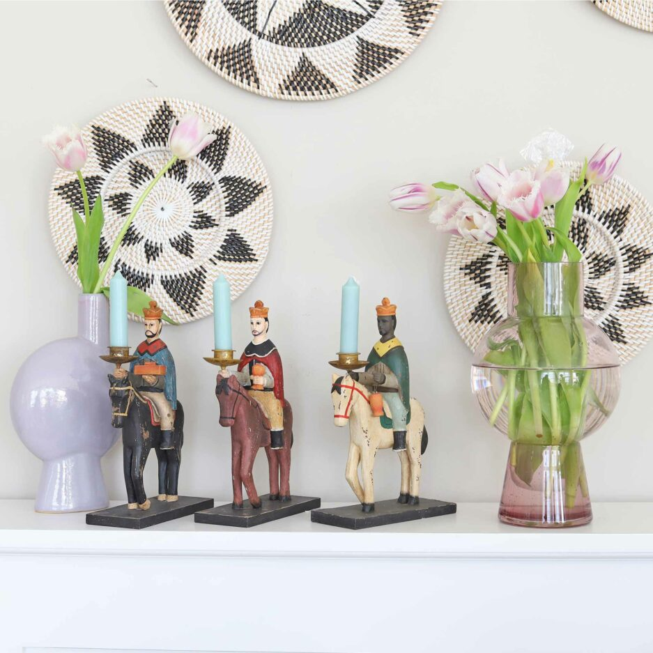 Glas Vasen rosa Madam Stoltz ♥ Süße Vasen finden Sie im Soulbirdee Onlineshop