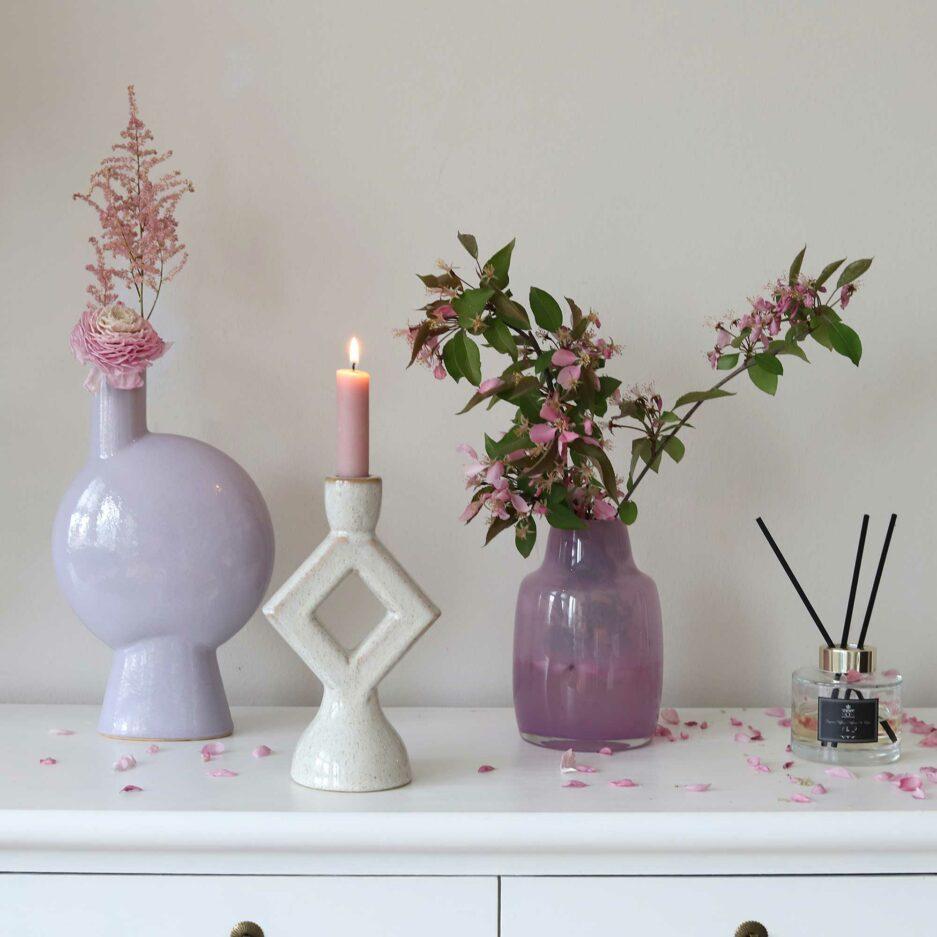 Skandi Kerzenhalter von der Marke Madam Stoltz Kollektion 2021 ♥ Süße Kerzenständer finden Sie im Soulbirdee Onlineshop
