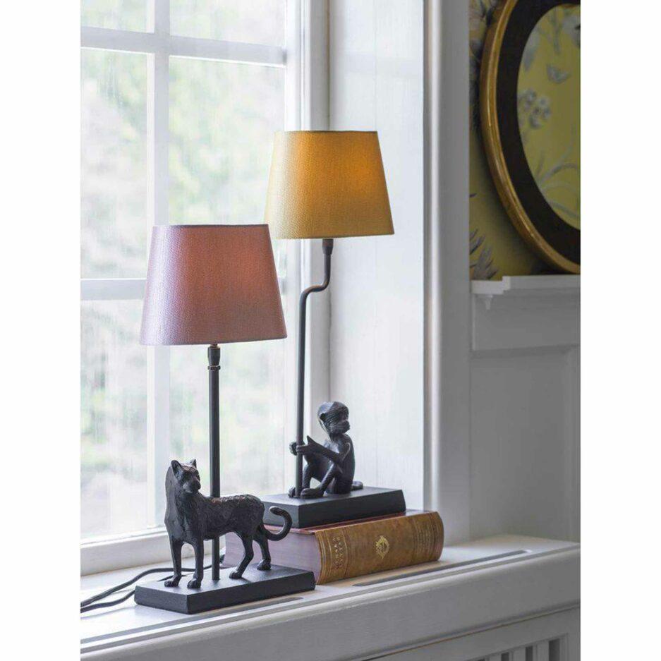 PR Home Tischlampe mit Leopard MALCOLM | Leopard Lampe | Soulbirdee Onlineshop