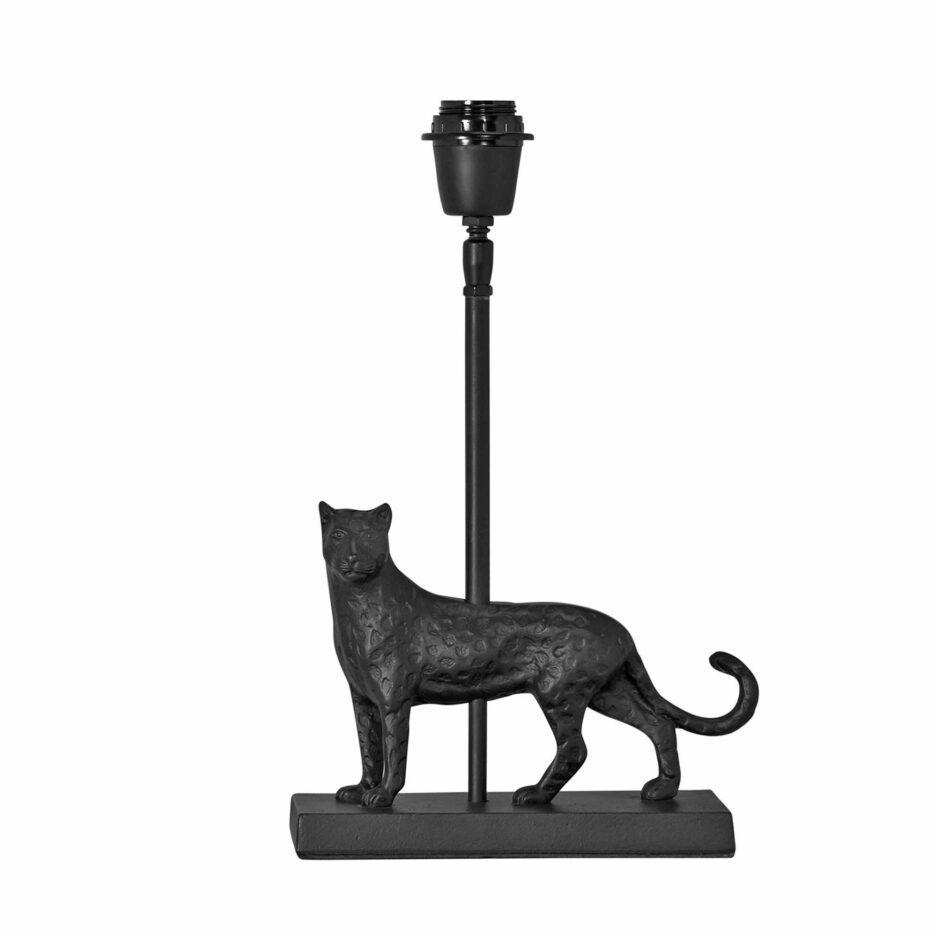 MALCOLM Tischlampe PRhome mit Leopard inkl. Lampenschirm kaufen ♥ Soulbirdee Onlineshop | Skandinavische Tischlampe von PR Home kaufen