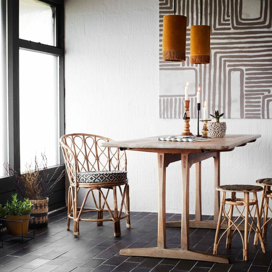 Stuhl MADAME im Skandi Boho Wohnstil   Madam Stoltz Sessel & Kissen ♥ Interior, Möbel, Deko Soulbirdee Onlineshop   Boho Möbel online kaufen