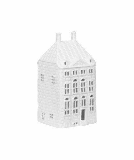 Rembrandthaus Grachtenhaus Amsterdam für Teelichter von Klevering Amsterdam ♥ Kerzenhalter in der Form eines Haus | Lichthäuser kaufen
