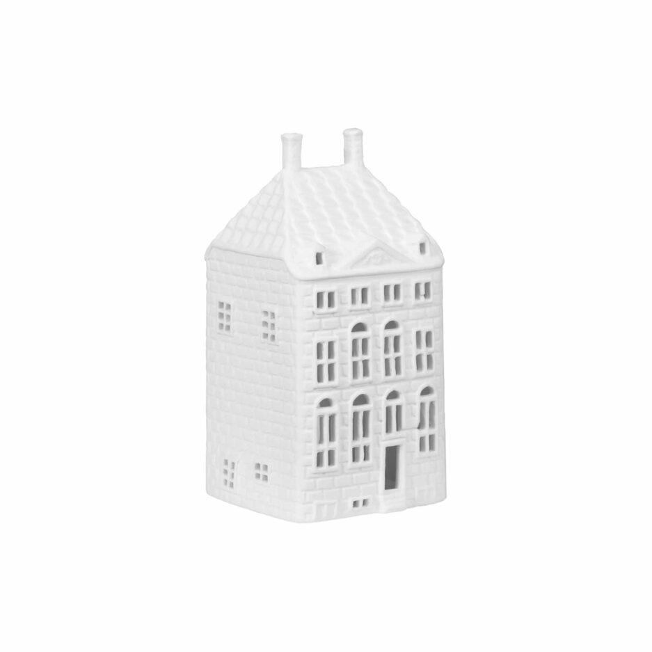 Rembrandthaus Grachtenhaus Amsterdam für Teelichter von Klevering Amsterdam ♥ Kerzenhalter in der Form eines Haus   Lichthäuser kaufen