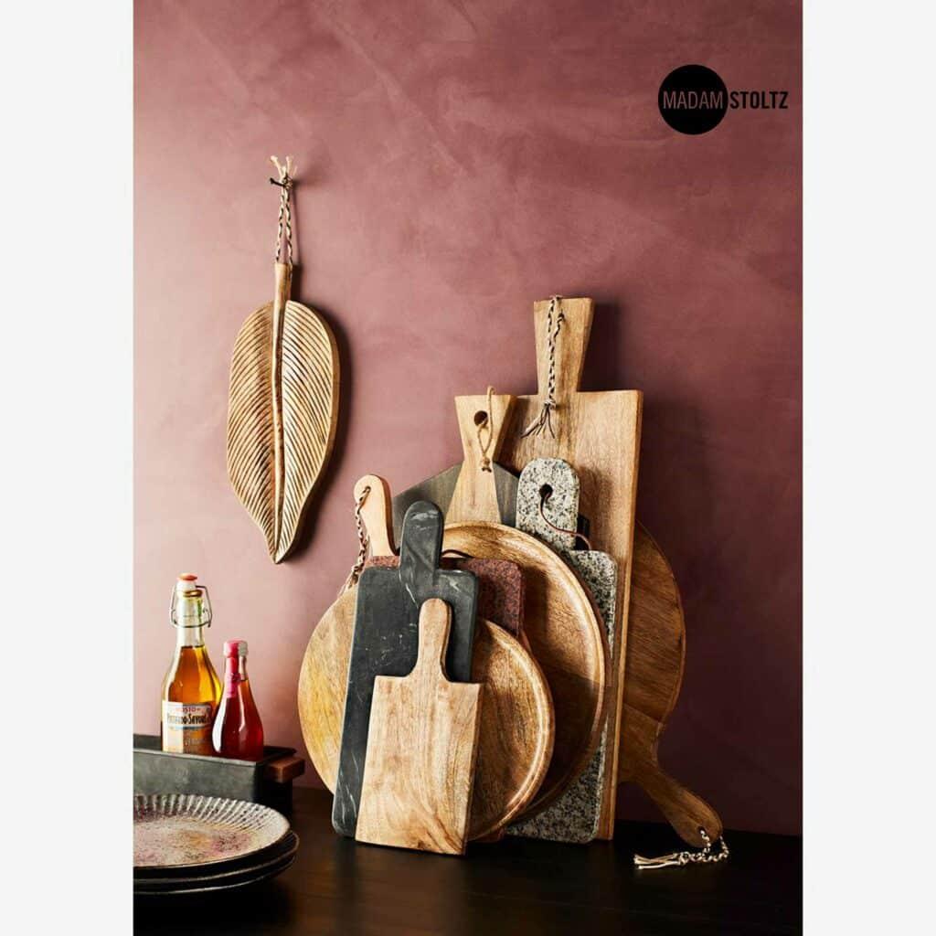 Rundes Holztablett 35 cm aus Mangoholz. Handgemachte Schale aus Holz von MadamStoltz zum dekorieren / servieren. Holzschale Online kaufen, Holzschale Dekorieren Soulbirdee