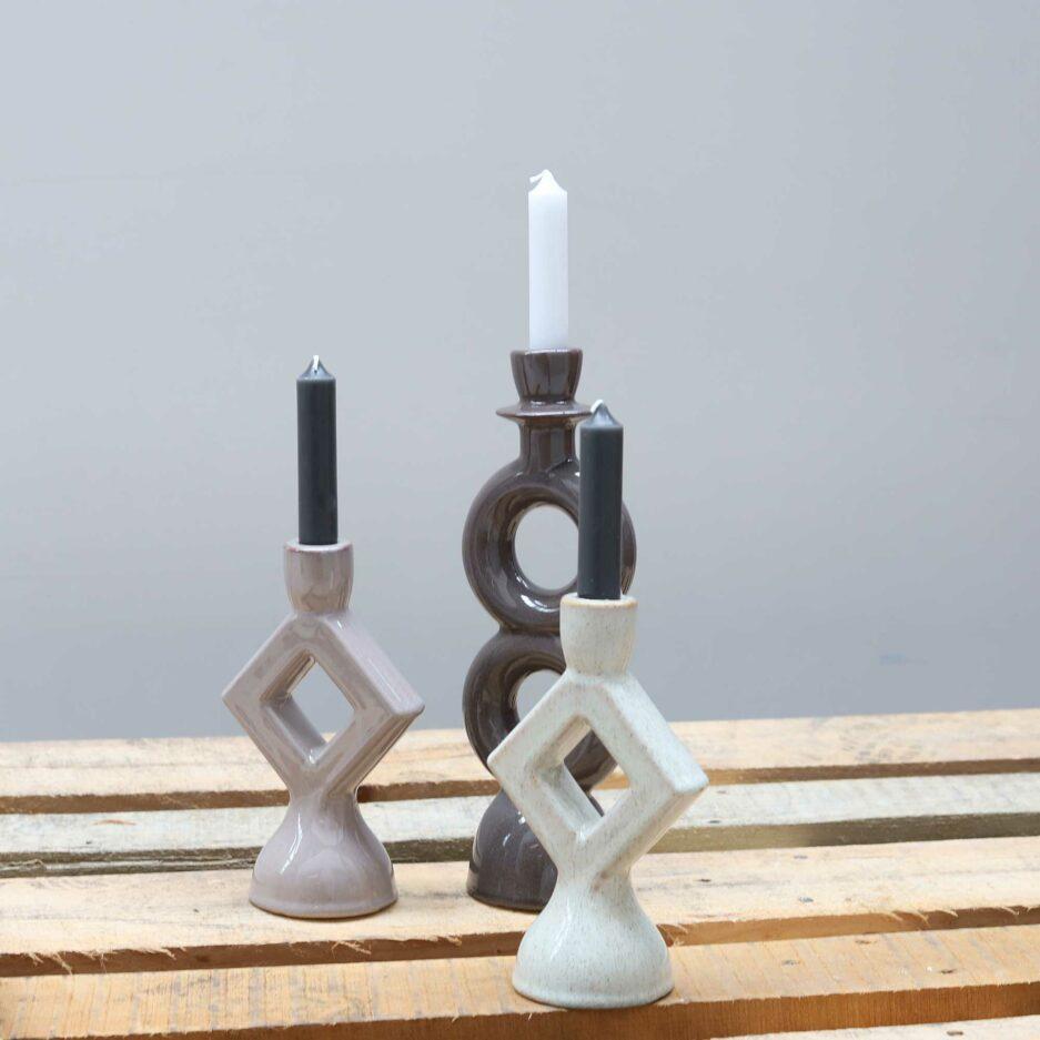 Skandinavische Kerzenhalter von der Marke Madam Stoltz Kollektion 2021 ♥ Süße Kerzenständer finden Sie im Soulbirdee Onlineshop