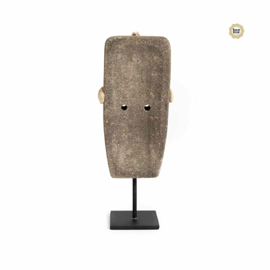 Figur aus Stein Statue | Bazar Bizar ♥ Ethno Deko Figur aus Sumba, Indonesien ♥ Boho Style Deko online kaufen im Soulbirdee Onlineshop