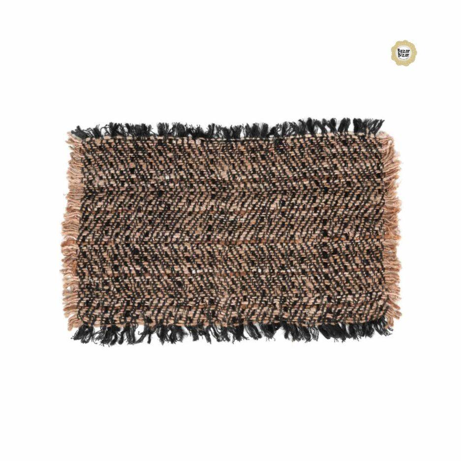 Schwarz-Kupfer The Oh My Gee Placemat von Bazar Bizar ♥ Boho Stil Tischsets