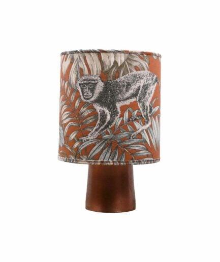 Tischlampe MONKEY mit Affe in braun ♥ Exotische Boho Style Tischlampe von PR Home online kaufen | Soulbirdee Onlineshop Boho Lampen & Deko