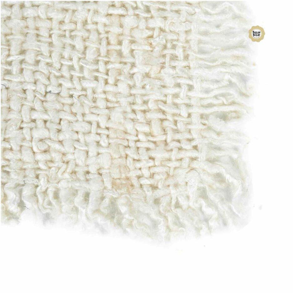 White Placemat von Bazar Bizar ♥ Boho Stil Tischsets oder Platzdecken die besonders sind ♥ Tischdekoration bei Soulbirdee Onlineshop