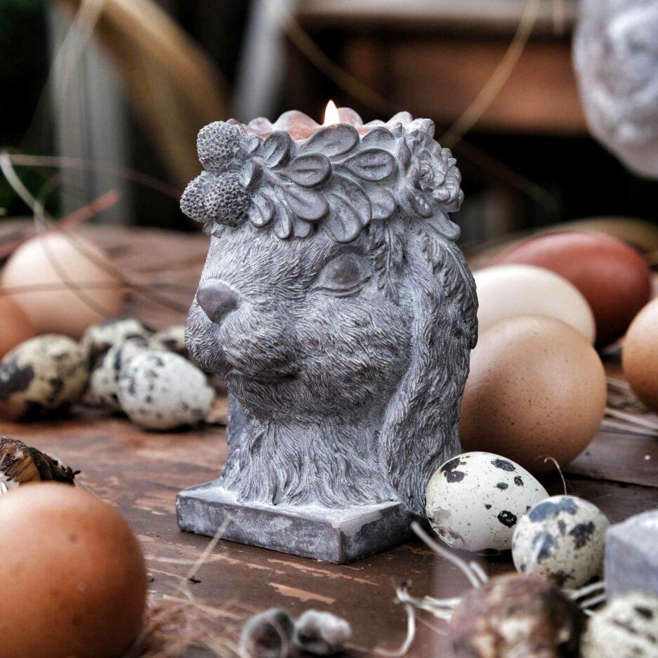 Bunny der süße Hase ♥ Ostern 2021 Deko im Landhausstil ♥ Romantische Osterdeko kaufen | Soulbirdee Onlineshop für Deko & Interior