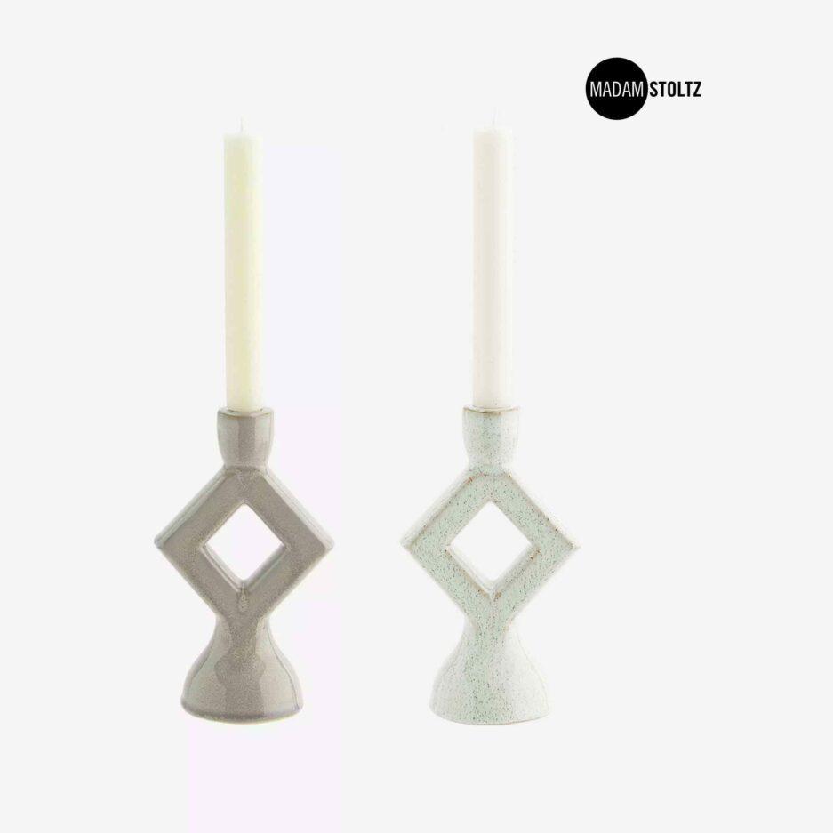 Raute Kerzenhalter von der Marke Madam Stoltz Kollektion 2021 ♥ Süße Kerzenständer finden Sie im Soulbirdee Onlineshop