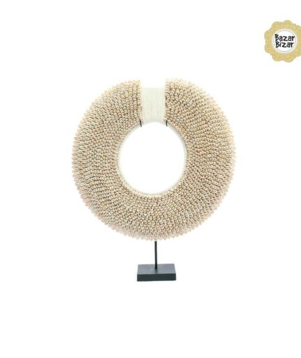 Muschelkette white disc bazar bizar bei soulbirdee onlineshop