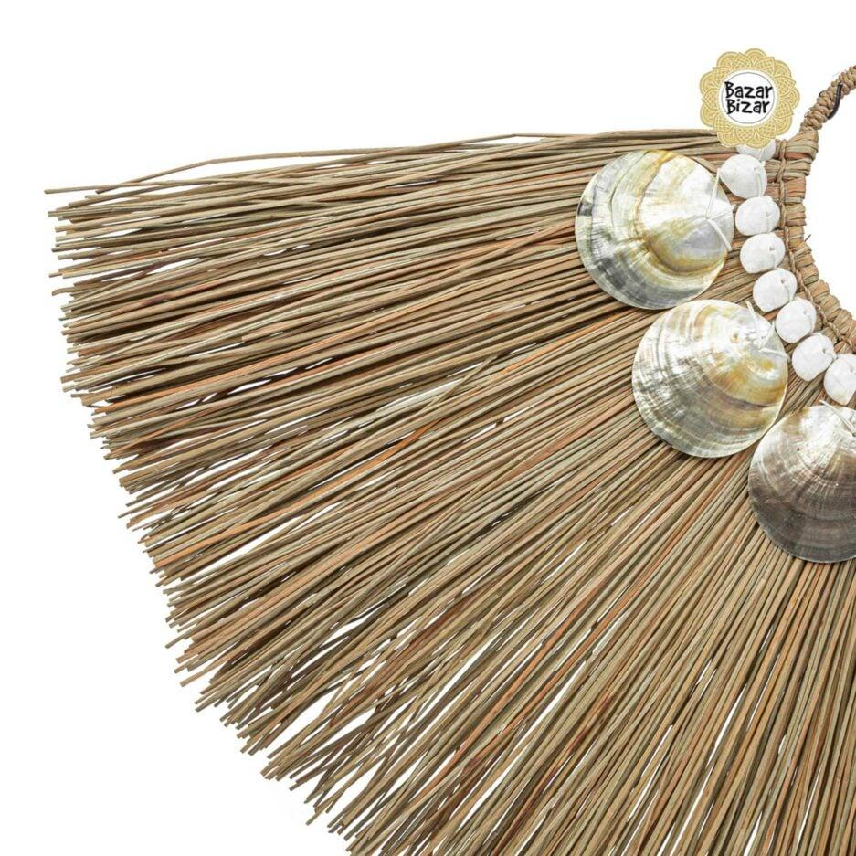 Alang Shell Dekoration im Boho Style   Detail der Muscheln