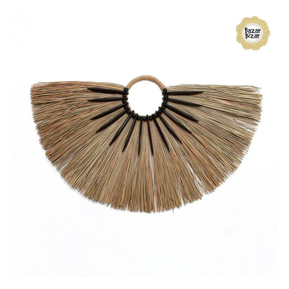 Alang Holz Dekoration im Boho Style | Alang Gras & Holz Ständer | Bazar Bizar bohemian Dekoration online kaufen | Soulbirdee Onlineshop