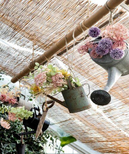 Kunstblume in der Farbe Rosa Hortensie ♥ Künstliche Blume, Kunstblume in Rosa