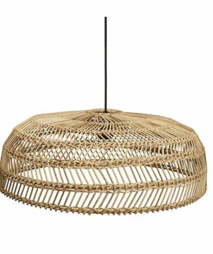 Lampenschirm aus Rattan in 3 Größen von der Marke PR Home in runder Form. Hängelampen für den Esstisch im Bohemian Wohnstil kaufen